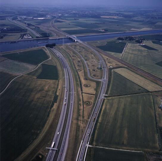 Vlakebruggen_luchtfoto