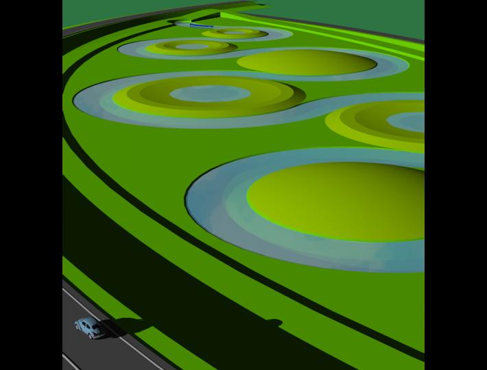 Waterblad - Wendel